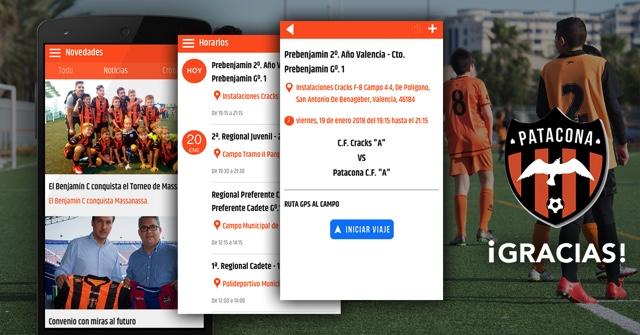 """""""Los métodos de comunicación hasta la fecha se quedan a años luz de la App para Clubs de Fútbol"""""""
